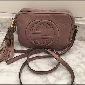 Authentic Gucci soho crossbody